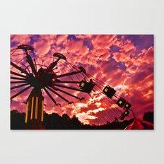 Summer Swing Canvas Print