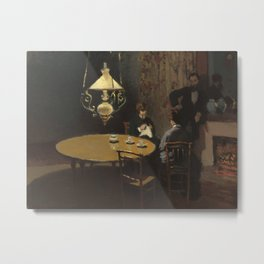 Interior, after Dinner Metal Print