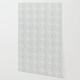 White Apophyllite Close-Up Crystal Wallpaper
