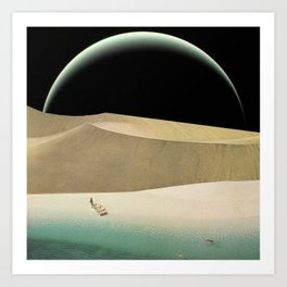 Utopian Tide Art Print