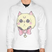 loll3 Hoodies featuring Meow by lOll3