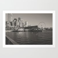 Seattle Waterfront Art Print