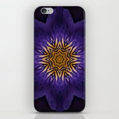 my purple flower iPhone & iPod Skin