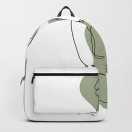 Girl Silhouette Backpack