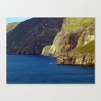 league Canvas Prints featuring Slieve League by Steve Watson