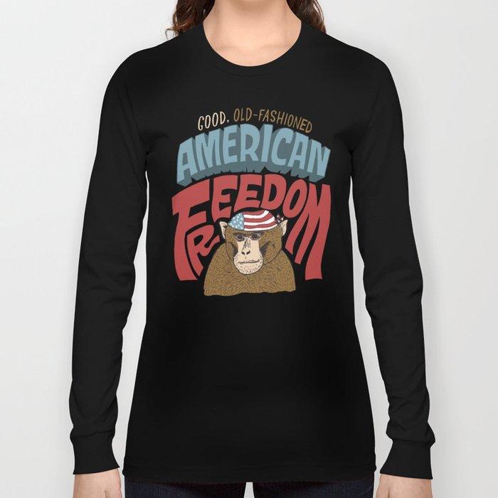American Freedom Long Sleeve T-shirt
