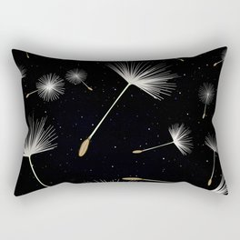 Celestial Dandelions Rectangular Pillow