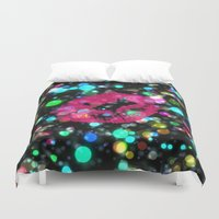 kiss Duvet Covers featuring KISS by Yilan