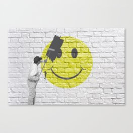 No Happiness Allowed! Canvas Print