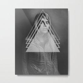 Tetra Metal Print