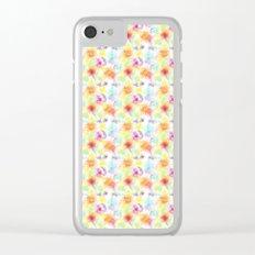 Splatter Fun Clear iPhone Case
