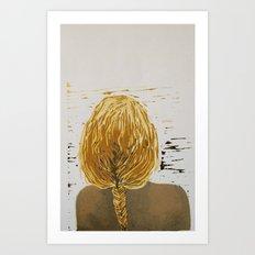 (Un)layered Art Print