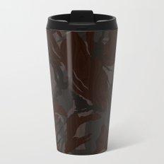 Modern Woodgrain Camouflage / British DPM Metal Travel Mug