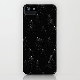 poppy seed dot pattern iPhone Case