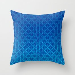 D20 Celestial Crit Pattern Premium Throw Pillow