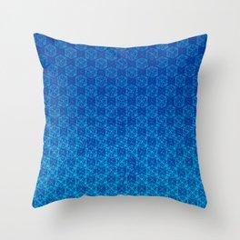 D20 Celestial Crit Pattern Premium Throw Pillow