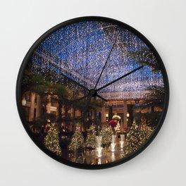 Longwood Gardens Christmas Series 15 Wall Clock