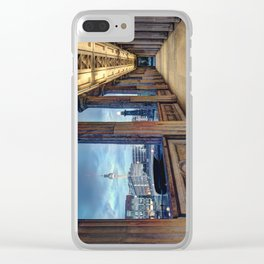 Window To The Other World Clear iPhone Case