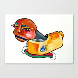 Twinkie Doll Canvas Print