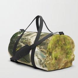 Silky Cascading Waterfall Hong Kong Duffle Bag
