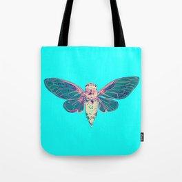 Flying Cicada Tote Bag