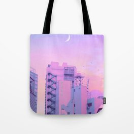 Shibuya Morning Crescent Tote Bag