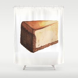 Cheesecake Slice Shower Curtain