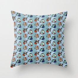 0079 Feds Throw Pillow