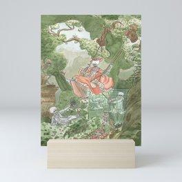 The Swing - Fragonard - Skeleton version Mini Art Print