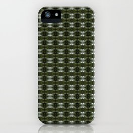 Old Growth Forest patterned iPhone Case