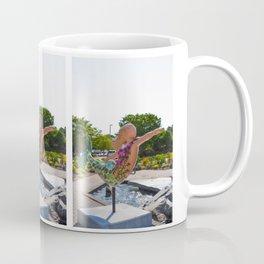 A Mermaid In A Norfolk Botanical Gardens 3 Coffee Mug