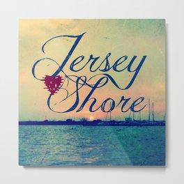 Jersey Shore Metal Print