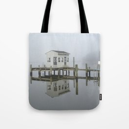 Eastern Branch Boat House Tote Bag