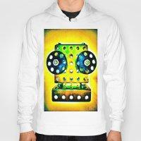 dj Hoodies featuring DJ by Yukska