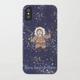 Hare, Bear & Manu  iPhone Case