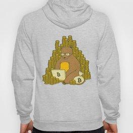 Bitcoin Miner T-shirt Bear Hoody
