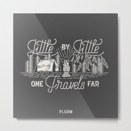 Little By Little Metal Print