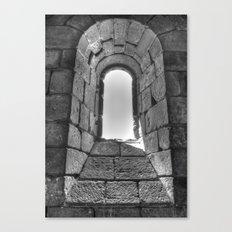 Medieval Window Canvas Print