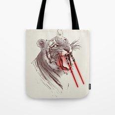 Light Saber Tooth Tiger Tote Bag