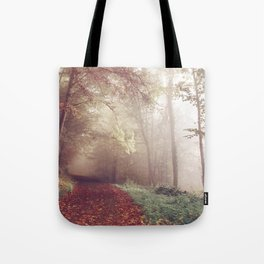 LOST IN THE PATH Tote Bag