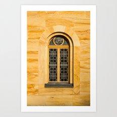Neuschwanstein Window Art Print