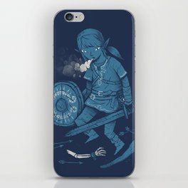 breath of the link iPhone Skin