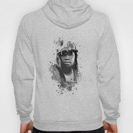 50 Cent splatter painting Hoody