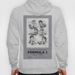 Formula 1 World-Champion from 1980 to 1989 Hoody