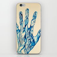 indigo iPhone & iPod Skins featuring Indigo by Nieves