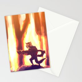Rocket Raccoon Stationery Cards