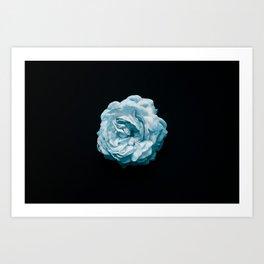 BLACK N' BLUE Art Print
