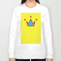 crown Long Sleeve T-shirts featuring CROWN by ^NHRK