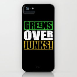 Cheerful Greens Over Junks iPhone Case