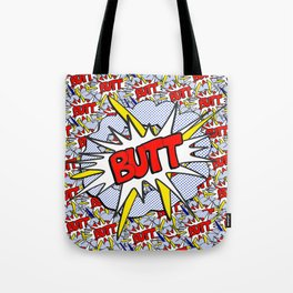BUTT - Pop Art Style Tote Bag